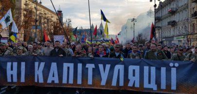 Manifesty na Ukrainie/ fot. Paweł Bobołowicz